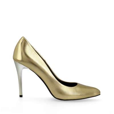 Pink metallic high heels ArturoVicci.pl