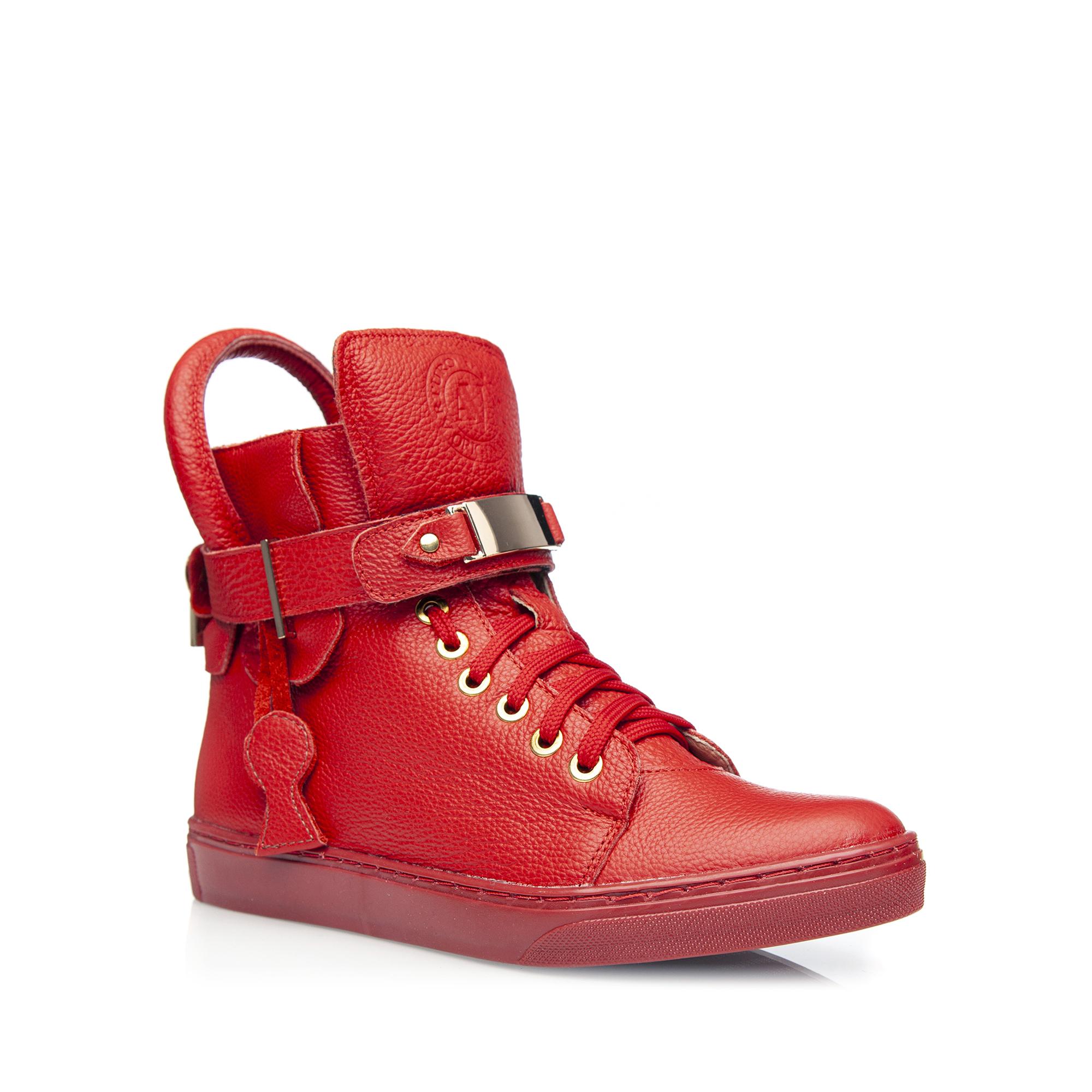 77e7e9406f3282 Strona główna; » Specjalne promocje; » Trampki. ‹ › Czerwone sneakersy ...